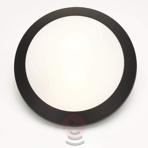 Fumagalli Lampa ścienna umberta z czujnikiem, 2xe27, czarna (8031874005039)