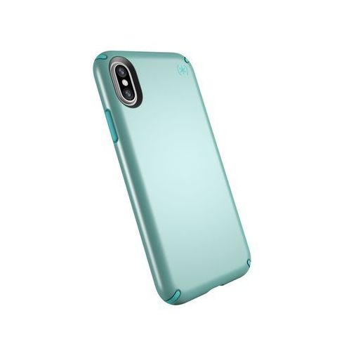 Speck Presidio Metallic Etui Obudowa iPhone Xs / X (Peppermint Green Metallic/Jewel Teal)