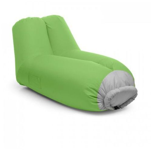 Blumfeldt airlounge sofa dmuchana 90x80x150cm plecak do prania poliester zielona (4260509685443)