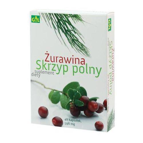 Żurawina + Skrzyp Polny 48 kaps. (5907501110540)