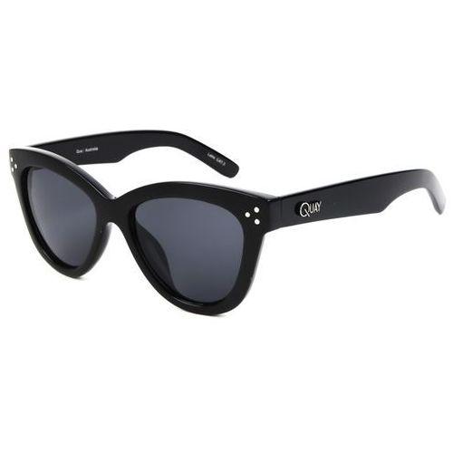 Okulary słoneczne qw-000086 summer fling blk/smk marki Quay australia