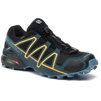 Buty SALOMON - Speedcross 4 Gtx GORE-TEX 407861 29 V0 Black/Reflecting Pond/Spectra Yellow, w 2 rozmiarach