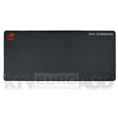 Podkładka pod mysz dla graczy Asus ROG Scabbard BLACK/RED 90MP00S0-B0UA00 (4712900759297)