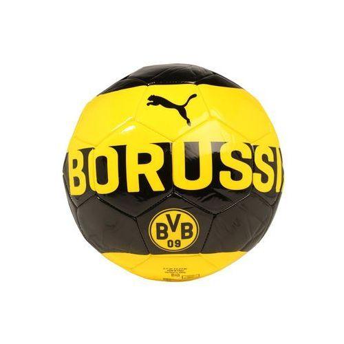Puma BVB FAN Piłka do piłki nożnej cyber yellow/puma black (4057828556710)