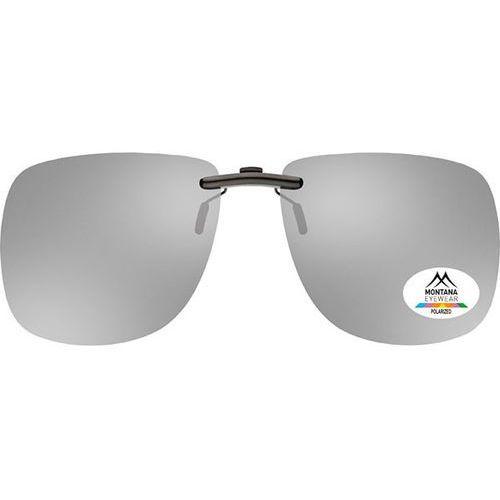 Okulary Słoneczne Montana Collection By SBG C3 Clip On Polarized no colorcode, kolor żółty