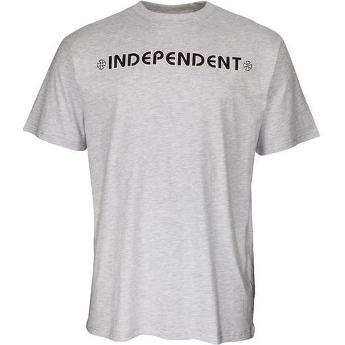 koszulka INDEPENDENT - Bar Cross Tee Athletic Heather (ATHLETIC HEATHER) rozmiar: S