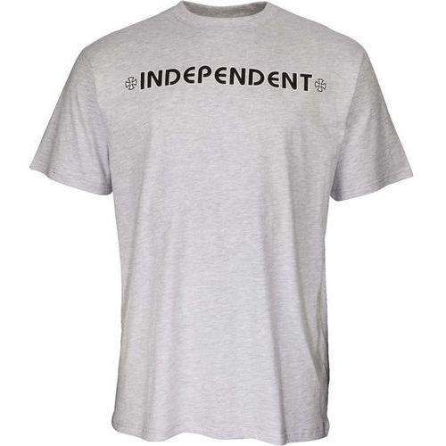 koszulka INDEPENDENT - Bar Cross Tee Athletic Heather (ATHLETIC HEATHER) rozmiar: XL