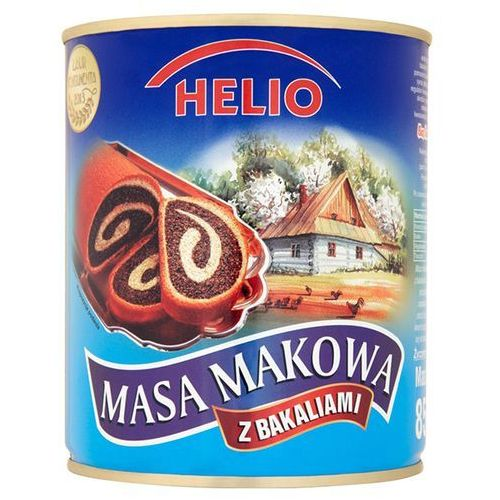 OKAZJA - 850g masa makowa z bakaliami marki Helio