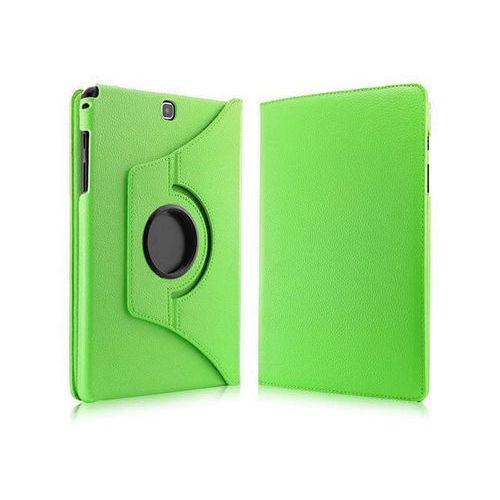 Zielone etui skórzane PU Stand Cover Galaxy Tab A 9.7 T550 - Zielony, kolor Zielone