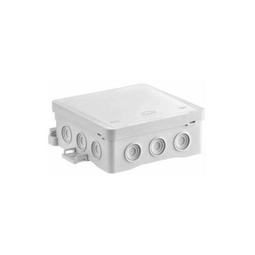 Puszka naścienna 100x40x100mm z dławnicą zintegrowaną samozatrzaskowa seria FASTBOX szara IP54 NS7 35349102 (5907813232138)