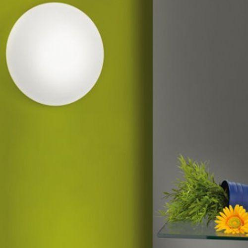 EGLO 91685 - Lampa Plafon Kinkiet LED BARI 1 1xLED/18W biały/opalone szkło, 91685