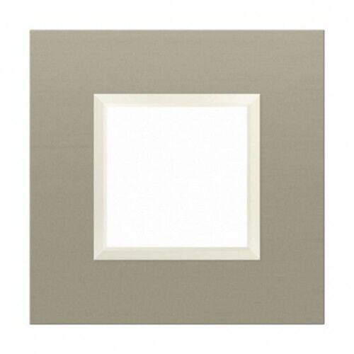 KOS DANTE Ramka 1x ALUMINIUM LAKIEROWANE SATYNA 4550281, kolor srebrny