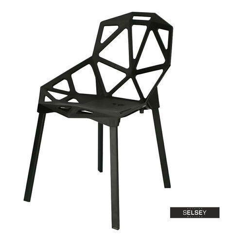 Selsey krzesło nubera czarne marki D2