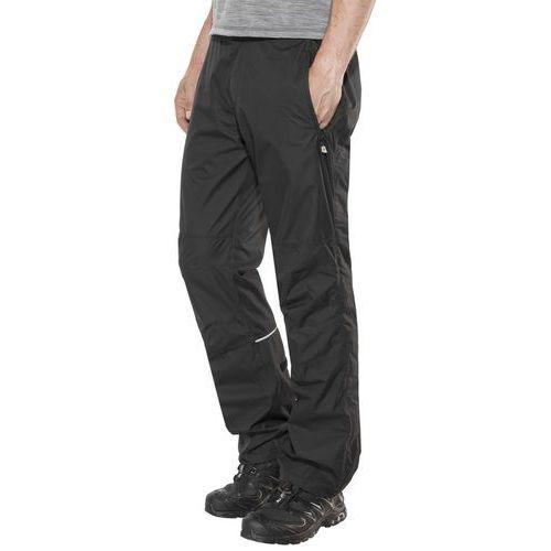 Maier Sports Raindrop Spodnie długie Mężczyźni czarny 48 2018 Spodnie przeciwdeszczowe, kolor czarny