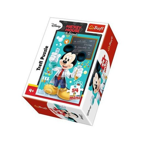 Puzzle 54 Mini Myszka Miki i Przyjaciele Miki chemik