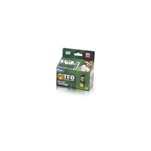 Tusz tfo do epson t0791 - czarny (17 ml) marki Telforceone