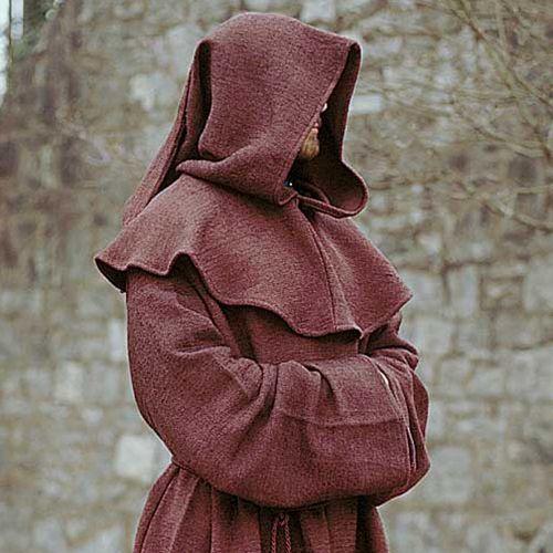 Szata mnicha z kapturem brązowa marki Płatnerze