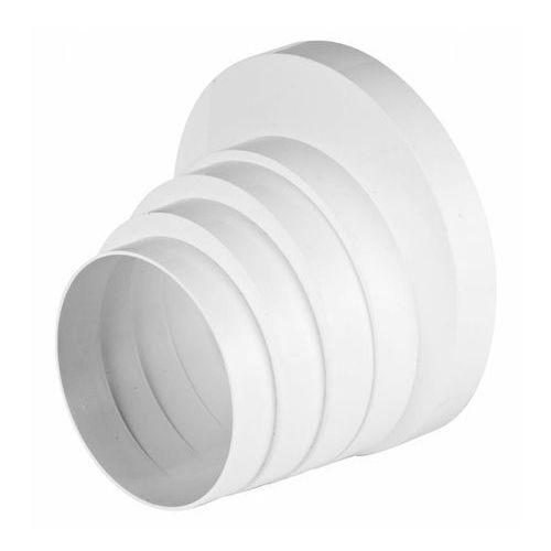 Redukcja wielostopniowa kanału wentylacyjnego okrągłego abs rko dn 100-150 marki Awenta
