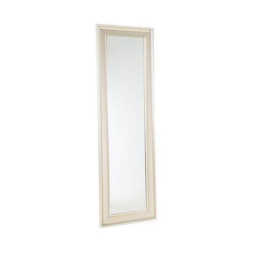 Lustro złote - w ramie - do łazienki - do salonu - 51 x 141cm - CASSIS (7105277857227)