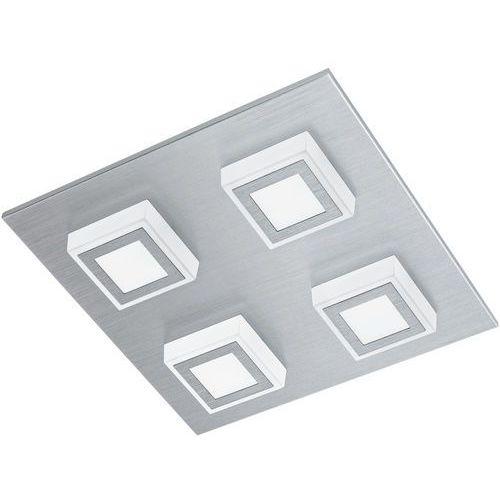 Eglo Plafon masiano 94508 lampa sufitowa ścienna 4x3,3w led aluminium szczotkowane
