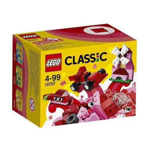 LEGO Classic, Czerwony zestaw kreatywny, 10707