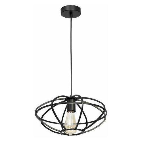 eliptica 3277 lampa wisząca zwis 1x60w e27 czarna marki Luminex