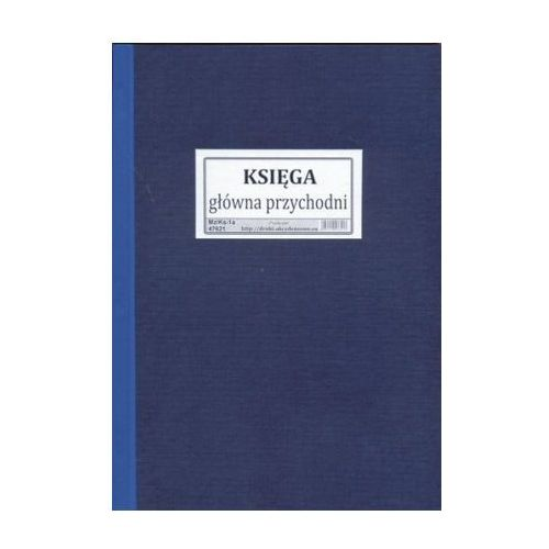 Księga główna przychodni / oprawa twarda [mz/ks-1a] marki Firma krajewski