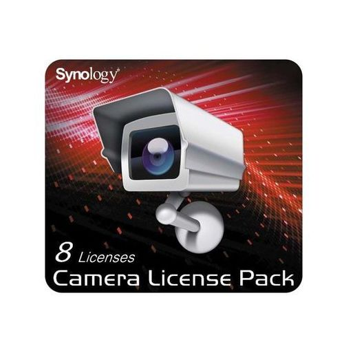 Synology Camera License Pack - 8 pack - Angielski