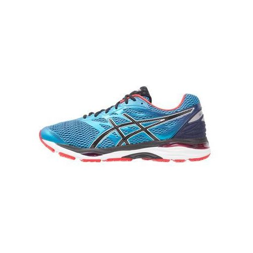 gelcumulus 18 obuwie do biegania treningowe island blue/black/vermilion marki Asics