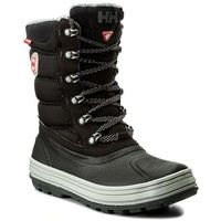 Śniegowce - tundra cwb 112-31.991 jet black/new light grey/charcoal/angora/black gum marki Helly hansen
