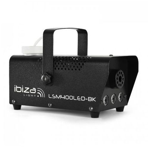 Ibiza Maszyna do mgły lsm400led-wh mini amber led czarna