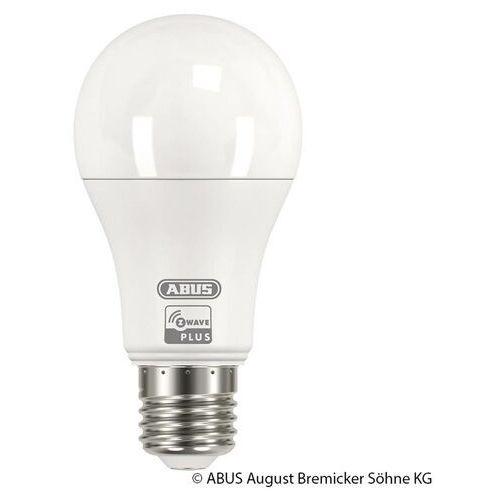 Abus z-wave e27 9 w lampa led, ciepła biel