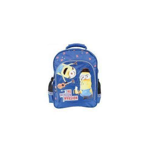 Plecak szkolny minionki rozrabiają 2 wzory +gratis marki Majewski