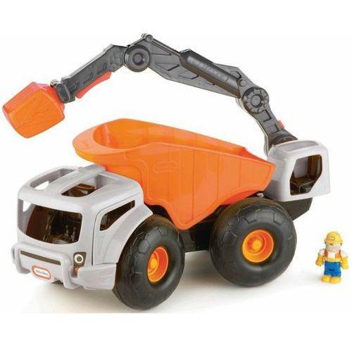 Zabawka LITTLE TIKES 633195M Duża koparka z ładowarką