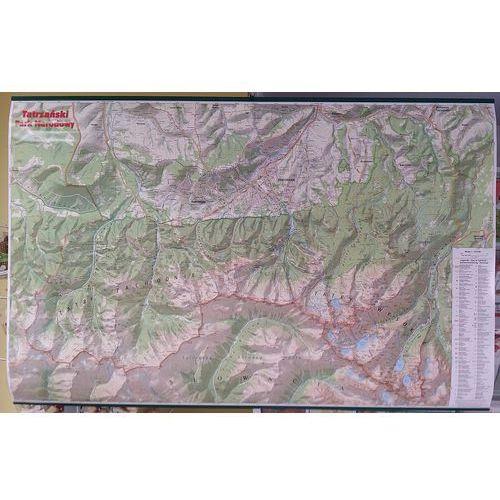 Mapa Ścienna Tatrzański Park Narodowy 1:30 000 - Praca zbiorowa