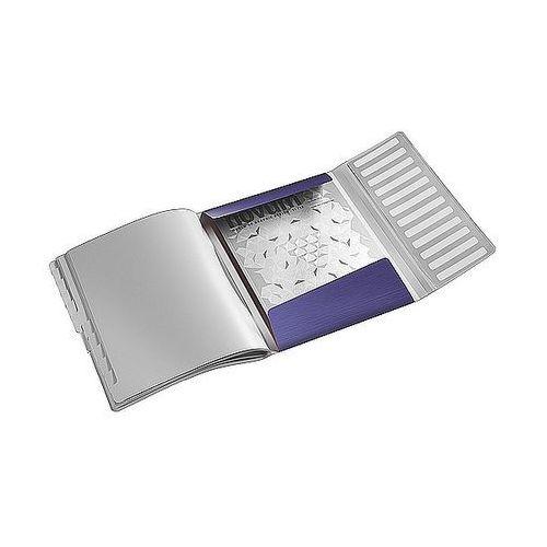 Teczka segregująca style 12 przegródek 200 kartek tytanowy błękit 39960069 marki Leitz
