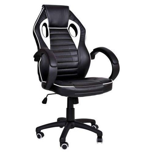 Fotel dla gracza gamingowy racer 1st biały marki Ehokery.pl
