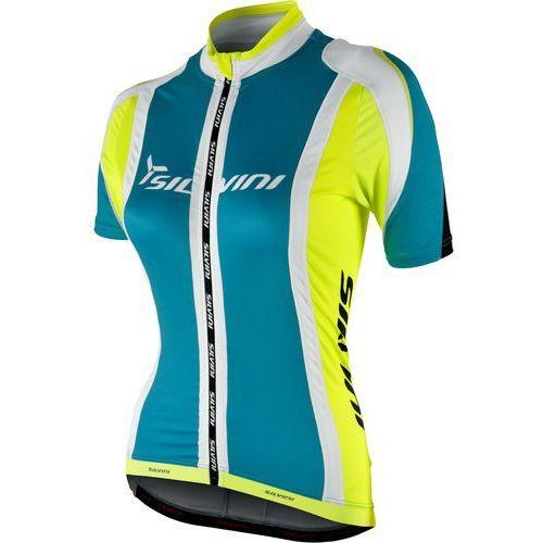 Silvini koszulka rowerowa Limentra WD604 Ocean-Neon S