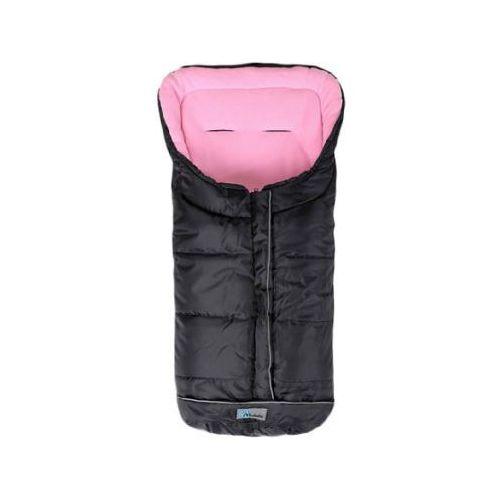 Alta bÉbe śpiworek zimowy standard (2203) czarno/różowy - black emy, kolekcja 2013/14 marki Alta bebe