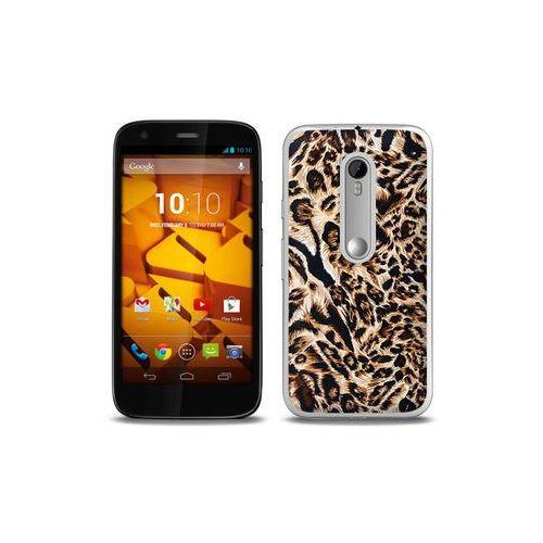 Foto Case - Motorola Moto G3 - etui na telefon Foto Case - panterka z kategorii Futerały i pokrowce do telefonów