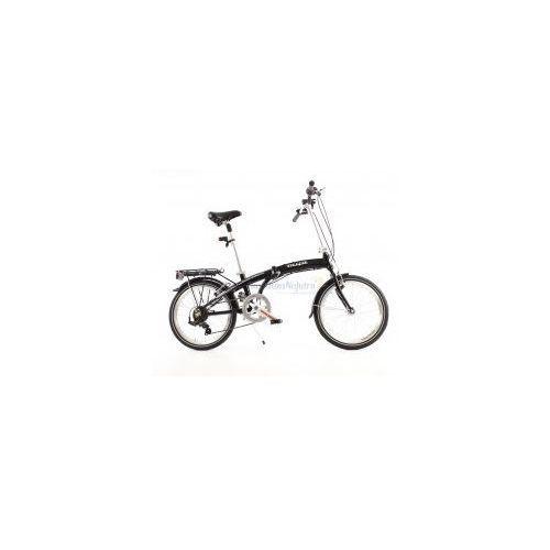 Aluminiowy rower składany składak mifa 7- biegów shimano z bagażnikiem marki Mifa germany