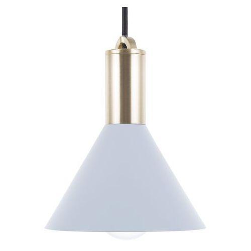 Lampa wisząca jasnoniebieska LEREZ (4260586355543)