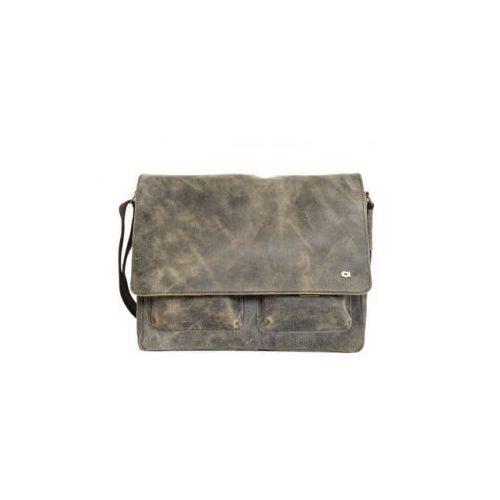 torba na ramię jazzy risk 162 skóra naturalna mieści format a4 marki Daag