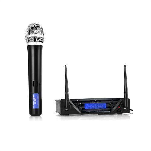 Malone UHF-350 Solo1 1-kanałowy zestaw mikrofonów bezp. UHF