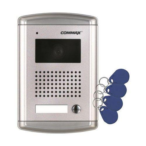 Commax Drc-4cans/rfid stacja bramowa 1-abonentowa z kamerą i czytnikiem kart rfid
