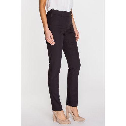 Eleganckie spodnie biurowe z wysokiej jakości tkaniny - marki Potis & verso