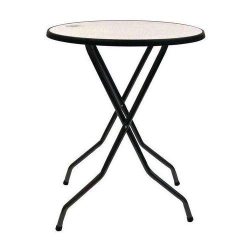 Stolik składany | 85(Ø)x(H)110cm