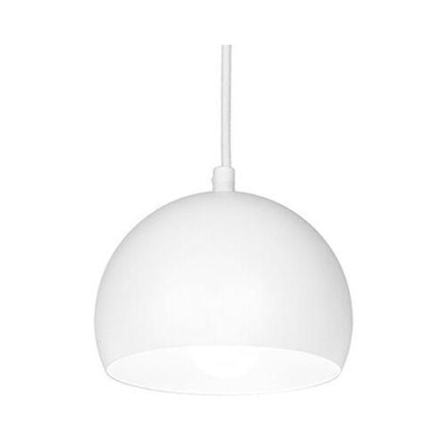 Luminex Lampa wisząca sool 1 x 60 w e27 biała (5907565912111)