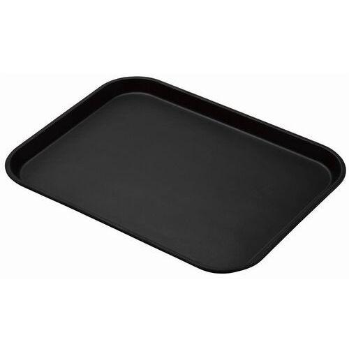 prostokątna taca treadlite antypoślizgowa z włókna szklanego czarna 457mm marki Cambro