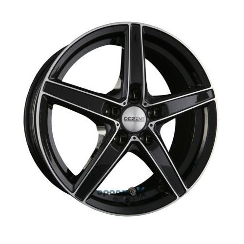 Dezent rn dark - black front polished (bfp) einteilig 7.00 x 16 et 40
